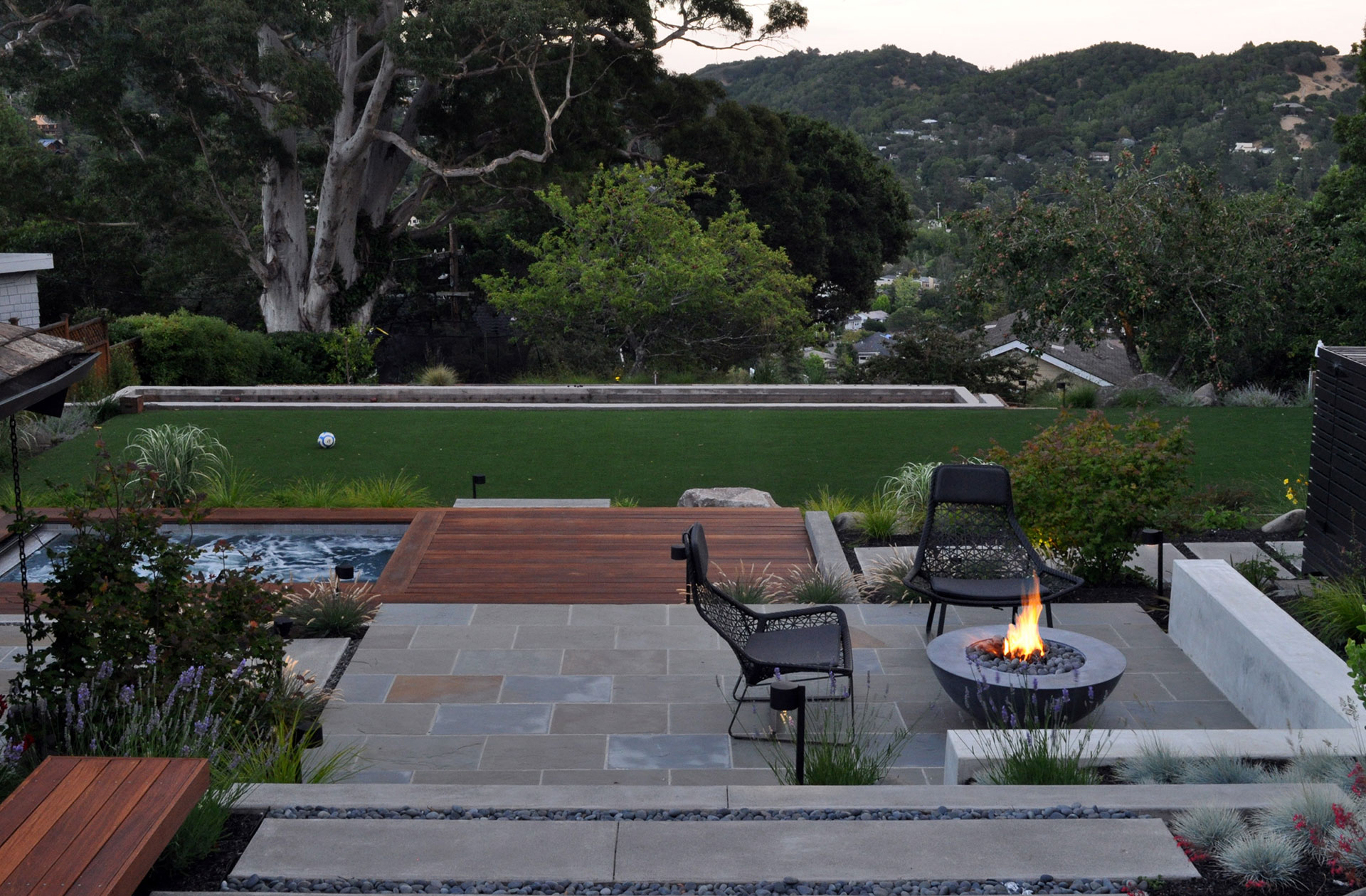 Mill valley huetll landscape architecture for Mill valley architects